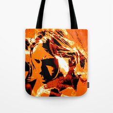 It´s better to burn out... Tote Bag