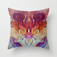 Take A Sip  Throw Pillow