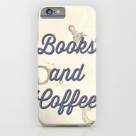 Books And Coffee iPhone 6 Slim Case