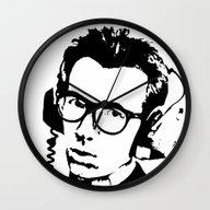 Elvis Costello   Headpho… Wall Clock