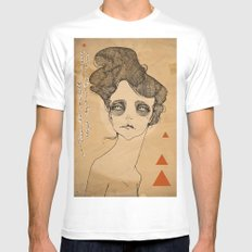 JULES White SMALL Mens Fitted Tee