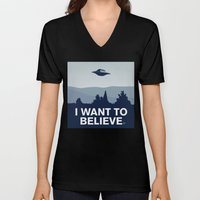 My X-files: I want to believe poster Unisex V-Neck