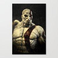 kratos Canvas Print