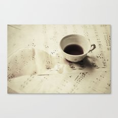 Creation of a Masterpiece  Canvas Print