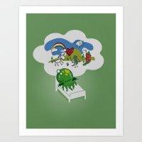 Unspeakable Nightmare Art Print