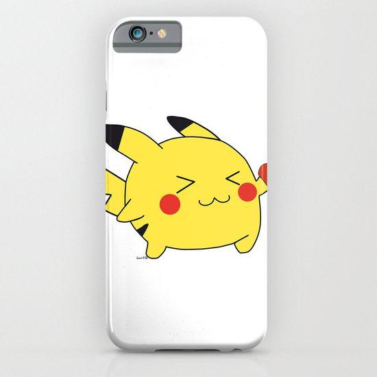 pikachu in love  iPhone & iPod Case