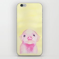 Baby Piglets iPhone & iPod Skin