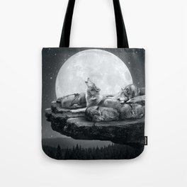 Tote Bag - Echoes of a Lullaby - soaring anchor designs