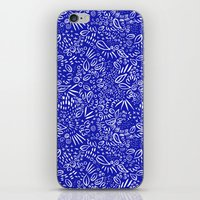 Midnight Floral iPhone & iPod Skin