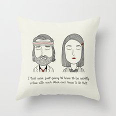 M & R Throw Pillow