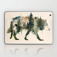 Wolf is the Pride of Nature Laptop & iPad Skin