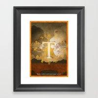 Vintage FF Poster: Final Fantasy Tactics Framed Art Print