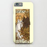 iPhone Cases featuring Bride by Karen Hallion Illustrations