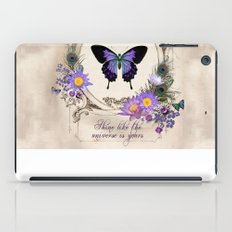 Shine like the universe is yours iPad Case