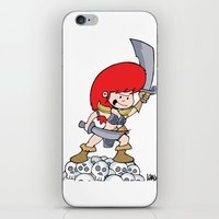Red Gilly! iPhone & iPod Skin