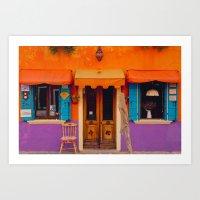 Burano Island VI Art Print