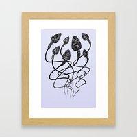 7Seeds Framed Art Print