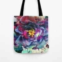 Purple Flower - Boho Tote Bag
