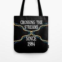 Crossing The Streams Sin… Tote Bag
