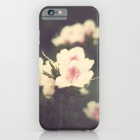 Pink Flowers On Vintage … iPhone 6 Slim Case