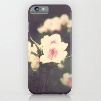 Pink Flowers On Vintage … iPhone 6 Slim Case