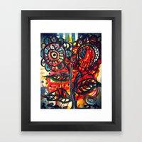 Caught on Fire Framed Art Print