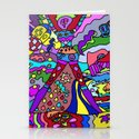 Abstract 12 Stationery Cards