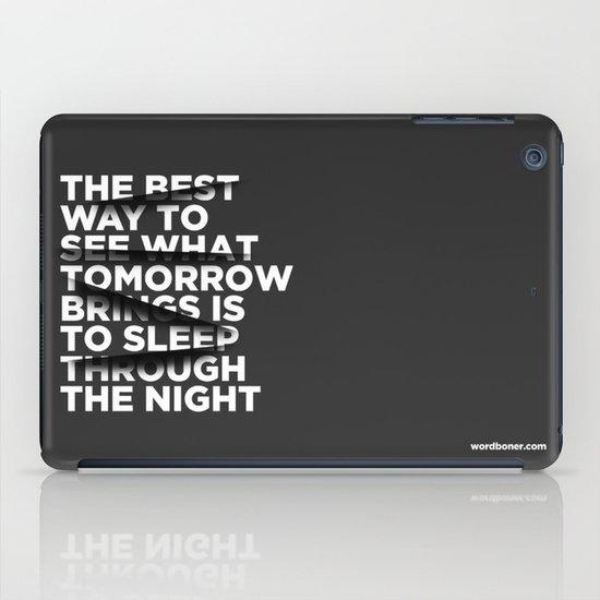 Sleep Through The Night iPad Case