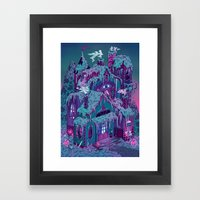 December House Framed Art Print