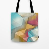 Tote Bag featuring Land Sphere by Msimioni