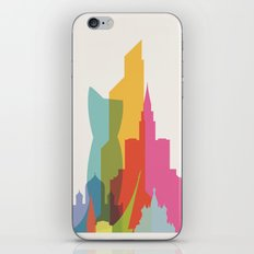Shapes of Moscow iPhone & iPod Skin