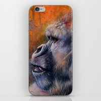 Gorilla: The Portrait of a Stolen Voice iPhone & iPod Skin