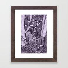 Cernunnos Framed Art Print