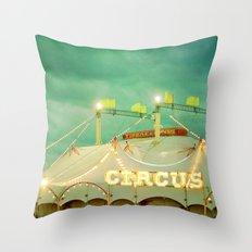 Circus II Throw Pillow
