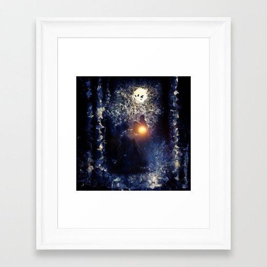 The Necromancer, by Paul Kimble & Viviana Gonzalez Framed Art Print
