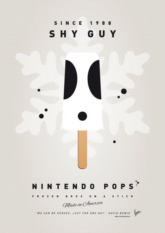 My NINTENDO ICE POP - Shy Guy Art Print