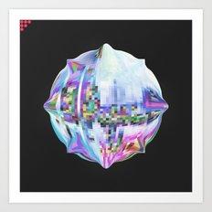 Pixelation  Art Print