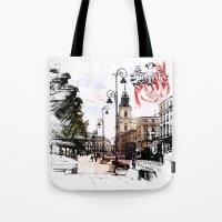 Poland - Krawkowskie Przedmiescie, Warsaw Tote Bag