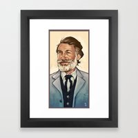 King Shultz Framed Art Print
