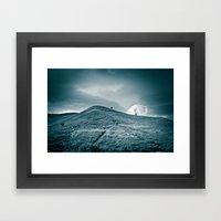 Moody Hill Framed Art Print