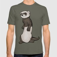 Wild Ferret Mens Fitted Tee Lieutenant SMALL