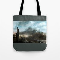 Daedalus Construction Yards Tote Bag