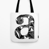 A Is For Tote Bag