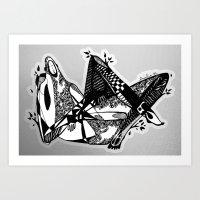 Avant Que Je M'ennuie - … Art Print