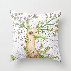 Forest's hear Throw Pillow