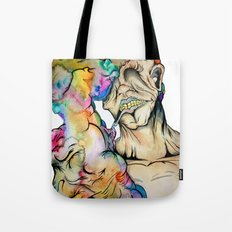 Overwhelmed Tote Bag