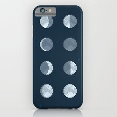 8bit Moon Phases Slim Case iPhone 6s