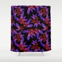 Tahitian Garden {E} Shower Curtain