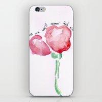 Promise Me iPhone & iPod Skin