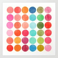 Art Print featuring colorplay 5 by Garima Dhawan
